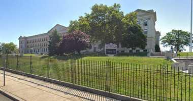 Dickinson High School in Jersey City.