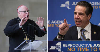 Gov. Andrew Cuomo and Cardinal Timothy Dolan