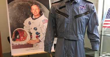 Neil Armstrong jumpsuit auction