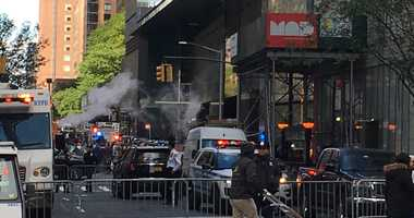 Time Warner Center, CNN's New York home evacuated.