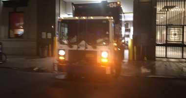 private trash truck