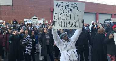 Municipal Detention Center protest