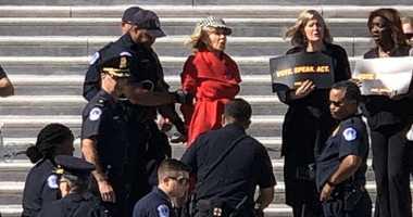Jane Fonda arrested