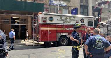 FDNY respond to diesel spill