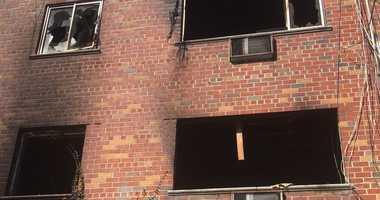 Williamsbridge house after fire