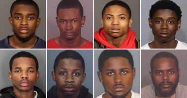 Alleged gang members