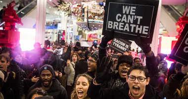 Demonstration following the death of Eric Garner.