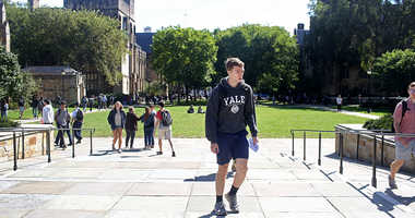 Yale campus and studio