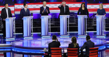 Second night of first Democratic primary debate
