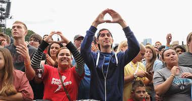 Global Citizen Festival attendees