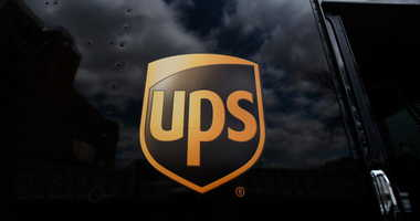 The United Parcel Service logo is emblazoned on the side of a delivery truck