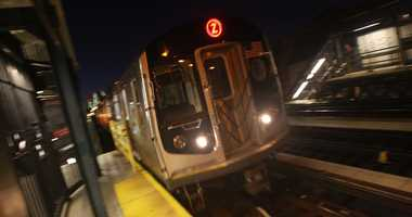 Z train subway