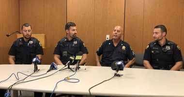 Greenwich PD Sgt. works with his 3 Greenwich PD sons before retiring