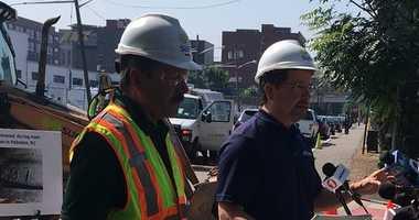 Hoboken has suffered 7 water main breaks over a 6 week period.
