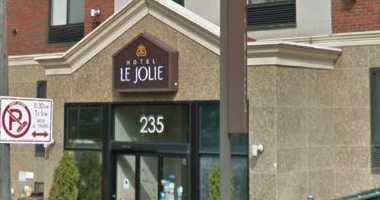 The Hotel Jolie in Williamsburg Brooklyn.