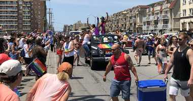 Long Island Pride Parade in Long Beach