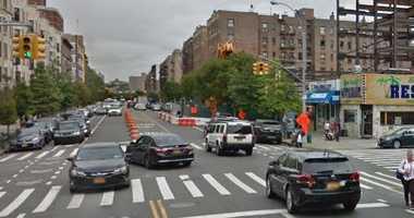 A street in the upper Manhattan neighborhood of Inwood.