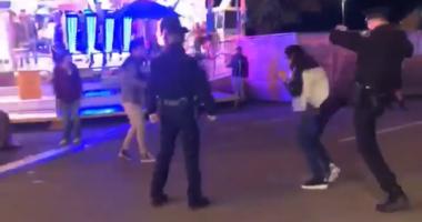 Washington Police Officer Kicks Teen at Fair