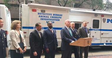 The NYPD is rolling out a mobile command unit for its animal cruelty investigation squad.