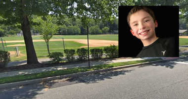 Cayden Walsh (inset) wants to play softball with his sisters, but league rules won't allow it.