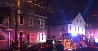Fire in Paterson