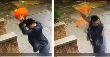 Brooklyn pumpkin smasher