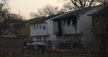 A woman was killed in an early morning house fire in Rahway.