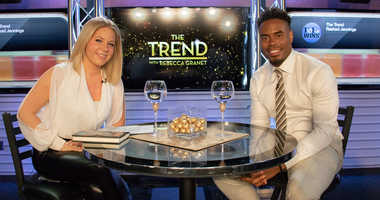 Rashad Jennings sits down with Rebecca Granet on The Trend.