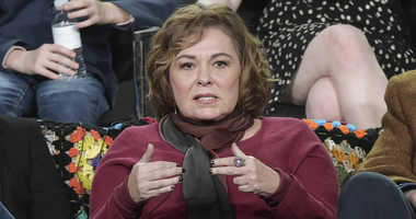 """FILE - In this Jan. 8, 2018, file photo, Roseanne Barr participates in the """"Roseanne"""" panel during the Disney/ABC Television Critics Association Winter Press Tour in Pasadena, Calif."""