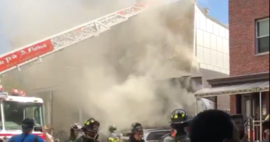 House explodes in Brooklyn