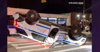 NYPD crash Flatlands