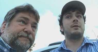Al and Ryan Jones covering Hurricane Florence