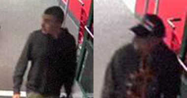 Suffolk County cops are looking for two guys who tagged a Target store in Centereach with swastikas.
