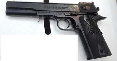 Fake weapon used in Queens police involved shooting.