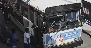 A bus driver says he was attacked by a group of teens who refused to pay their fare.