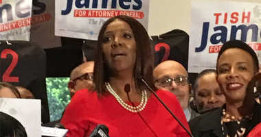 Public Advocate Tish James has announced that she will run for Attorney General.