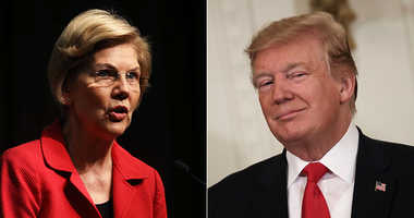 Donald Trump and Elizabeth Warren
