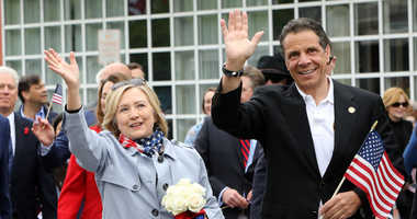 Hillary Clinton and Andrew Cuomo