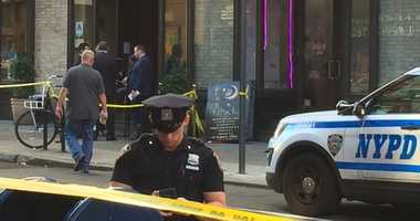 Three people were injured in a shooting at a hookah bar in Greenwich village.