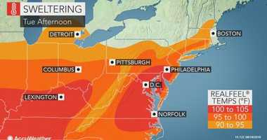 Tuesday August 20 Weather