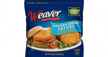 Weaver chicken breast patties
