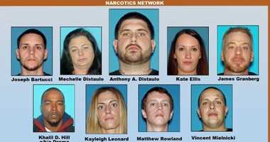 Monmouth County heroin bust