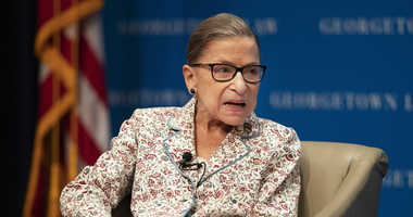 Ruth Bader Ginsburg completes 3 weeks of radiation treatment for tumor on pancreas at NYC's Memorial Sloan Kettering Center