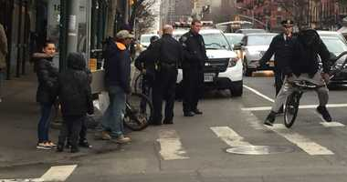 Hell's Kitchen Cyclist NYPD