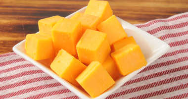Cheese cubes file