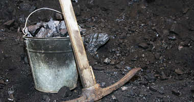 Coal and a pick axe