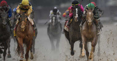 The horses racing at the 2019 Kentucky Derby