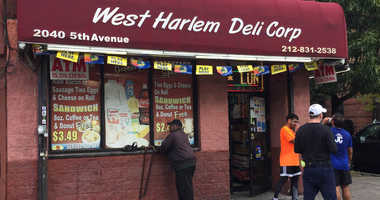 West Harlem Deli lotto ticket