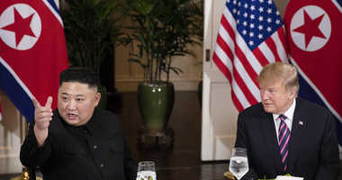 President Donald Trump and Kim Jong Un