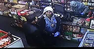 Surveillance Astoria robbery